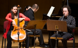 January 14th/2007 - Brahms Trio with Natalie Clein & Chen Halevi